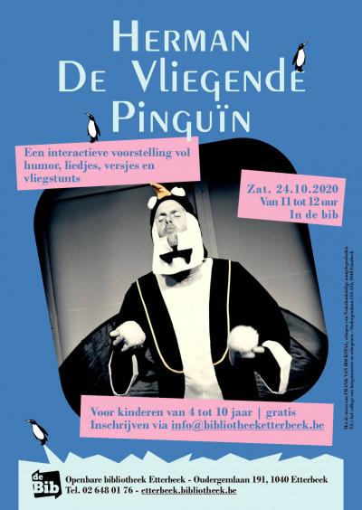 Voorstelling volzet (inschrijven niet meer mogelijk): Herman, de vliegende pinguïn