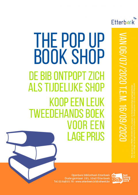 The pop up book shop