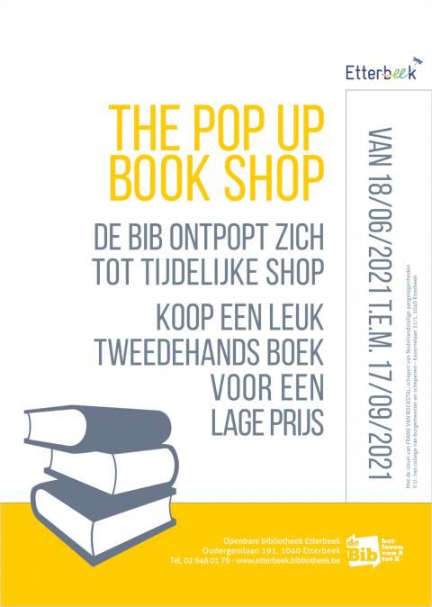 Pop up bookshop